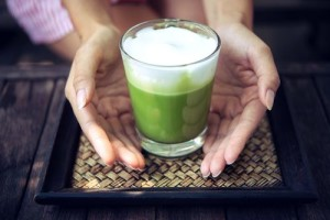 Matcha Tee die Kaffee-Alternative