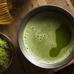 Premium Matcha Tee frisch zubereitet